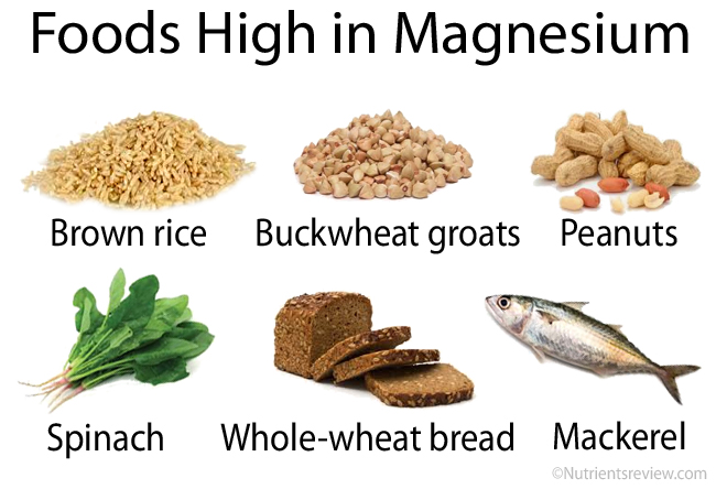 Eat Foods Rich in Magnesium and Potassium To Stop Asthma Cough Naturally