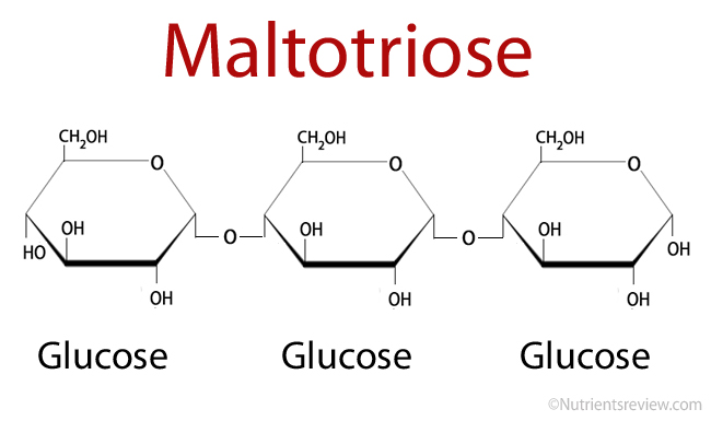Maltotriose formula