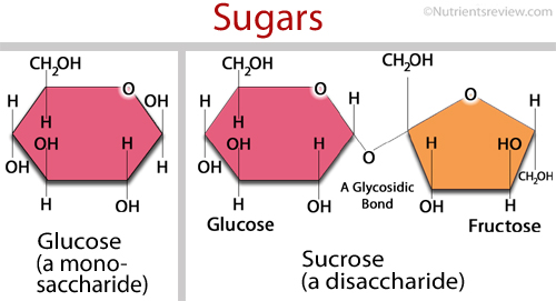 Sugar chemical formula picture